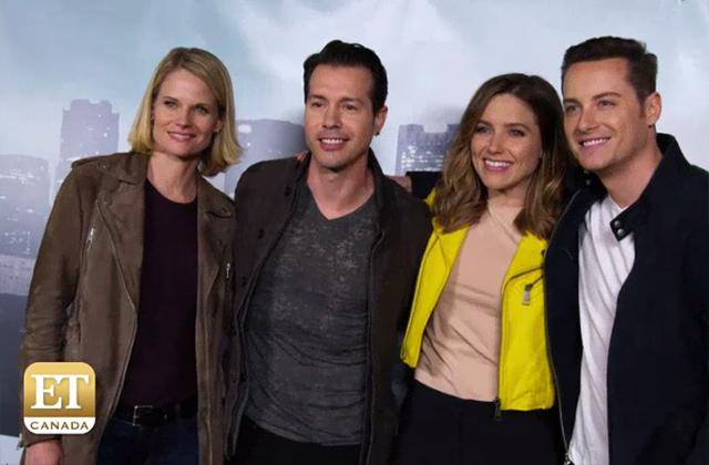 EXCLUSIVE: Sophia Bush, Jesse Lee Soffer & Jon Seda Dish on the Mega Upcoming 'One Chicago' Crossover