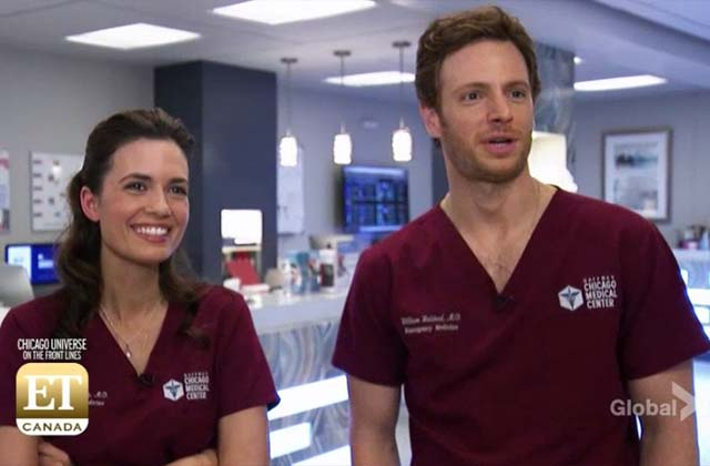 EXCLUSIVE: Behind the Scenes Look With the Cast of Chicago Med, Fire, PD and Justice!