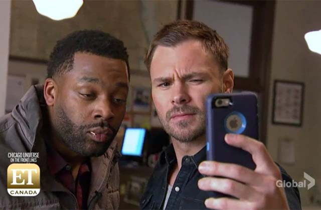 EXCLUSIVE: Behind the Scenes Look With the Cast of Chicago PD, Fire, Med and Justice!