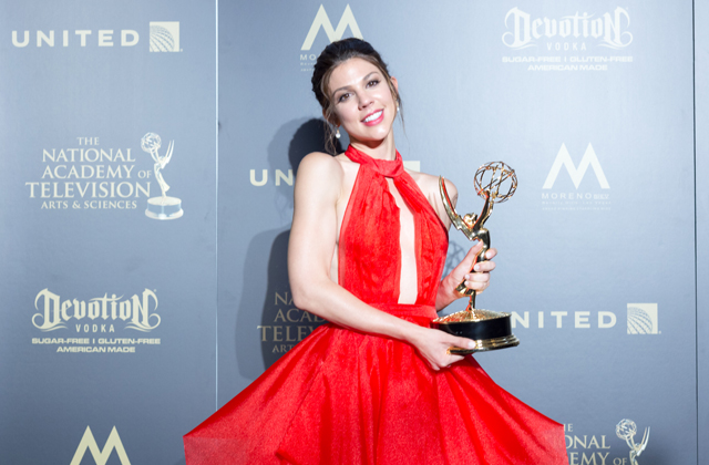 Kate Mansi wins her first Daytime Emmy! Hear the touching story about her grandmother's part in her big win