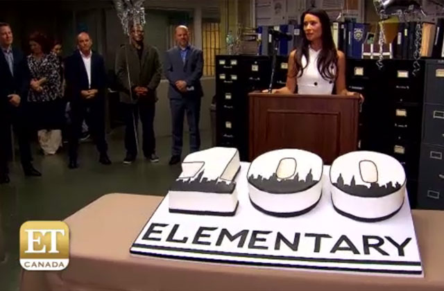 Watch: The Cast and Crew of Elementary Celebrate Their 100th Episode!