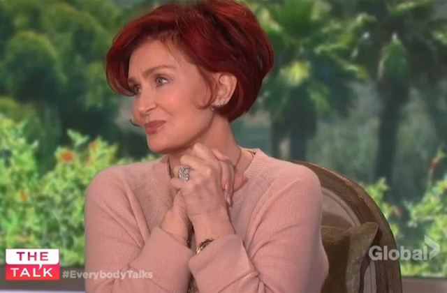 Watch: The Talk welcomes back Sharon Osbourne from the hospital!