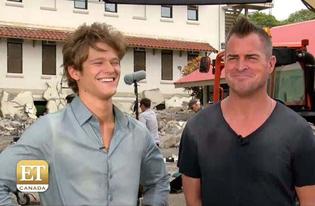 EXCLUSIVE: MacGyver Stars Lucas Till and George Eads Dish on Crossover with Hawaii Five-0