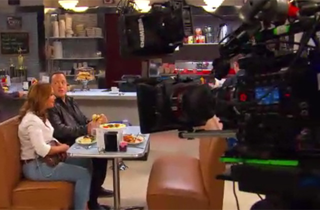 Watch: Raw Uncut Behind the Scenes Footage From 'Kevin Can Wait' Featuring Leah Remini