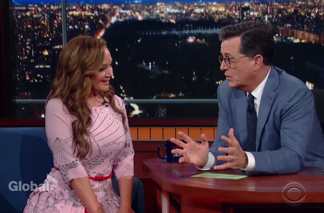 WATCH: Leah Remini Talks 'Kevin Can Wait' Season 2 on 'The Late Show with Stephen Colbert'