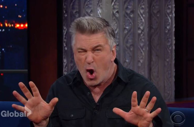 Watch: Alec Baldwin Explains the Process Behind His Famous Trump Impression to Colbert on The Late Show