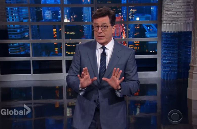 Watch: Colbert tries to figure out what Trump has accomplished in his first 100 days