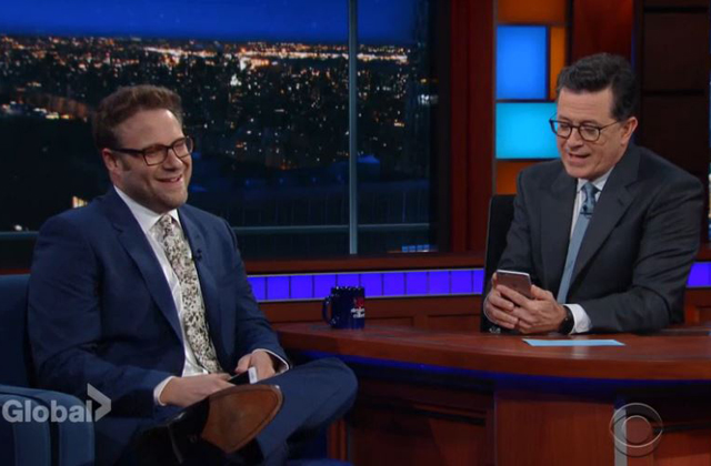 Watch: Seth Rogan talks about the Twitter DM he sent to Donald Trump Jr.