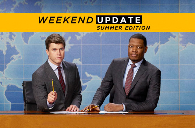 Watch the Series Premiere of 'Weekend Update' - the new 'SNL' spinoff !