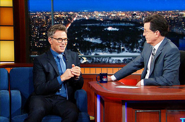 Tim Daly talks to Stephen Colbert about playing a