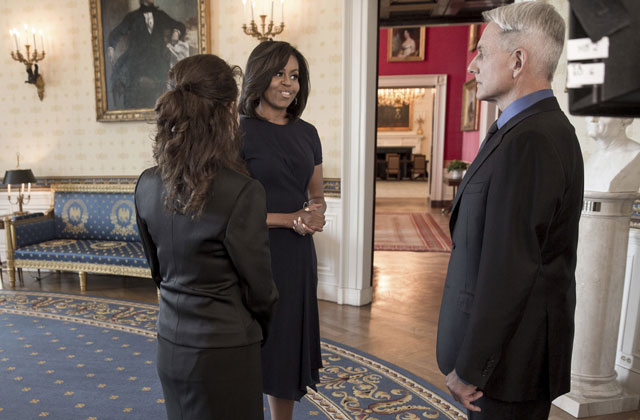 Michelle Obama guest stars on the latest NCIS