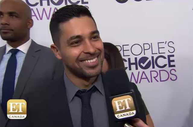 Watch: Wilmer Valderrama 'Stoked' About NCIS PCA Nods