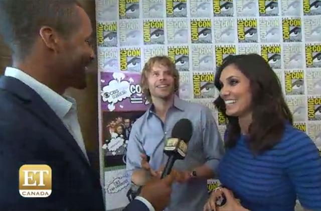 Watch: NCIS: LA Stars Eric Christian Olsen And Daniela Ruah Talk Off-Screen Pregnancy