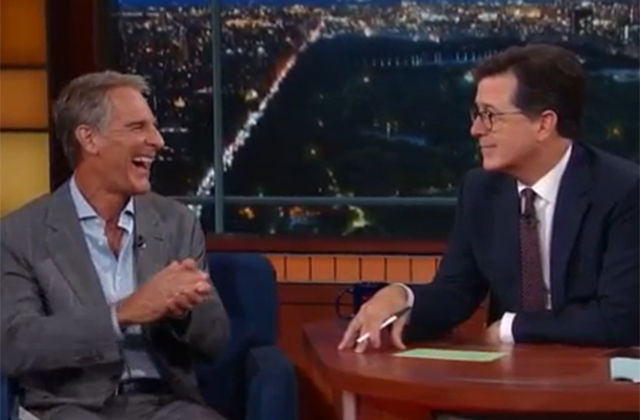 Scott Bakula talks sci-fi, career mistakes, nudity and horses on The Late Show with Stephen Colbert