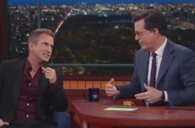 Watch: Dermot Mulroney Talks 'Pure Genius' With Stephen Colbert on The Late Show