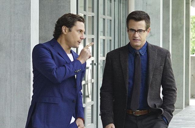 Watch: Pure Genius Stars Dermot Mulroney and Augustus Prew Interrogate Each Other