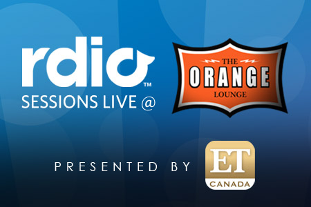 Rdio Sessions @ The Orange Lounge