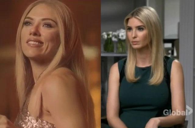 Watch: Ivanka Trump Responds to Scarlett Johansson's Impression of Her in Viral SNL 'Complicit' Skit