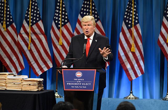 Alec Baldwin's SNL Trump Impression Tops List of Donald Trump's Biggest Celebrity Beefs