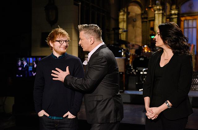 Watch: Ed Sheeran Outshines Alec Baldwin's Trump Impression in Hilarious SNL Promo