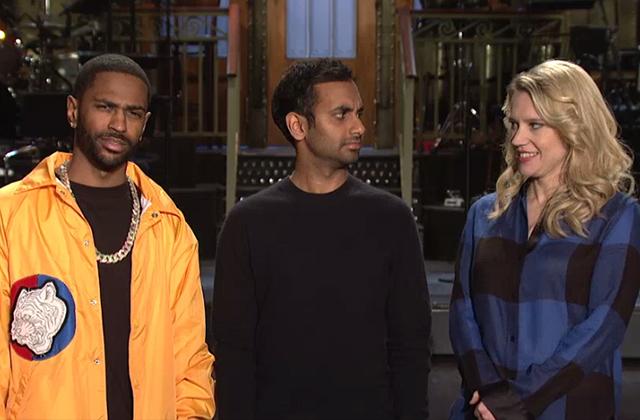 Watch: Kate McKinnon's Rap Nickname Fails to Impress Aziz Ansari and Big Sean in Latest Promo