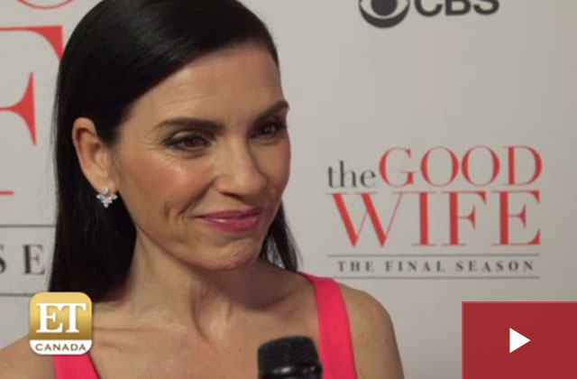 ET Canada: Julianna Margulies On 'The Good Wife' Finale