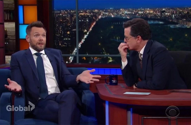 Watch: Joel McHale Talks 'The Great Indoors' on The Late Show With Stephen Colbert