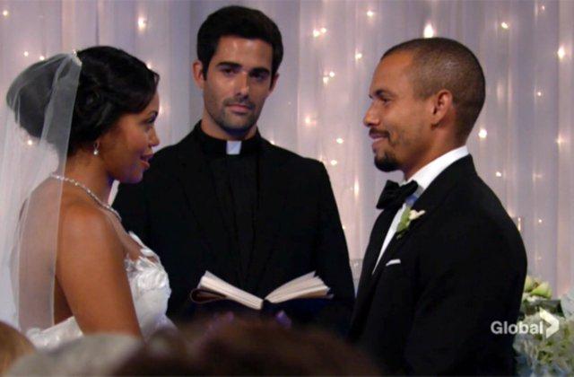 Watch Devon and Hilary exchange vows