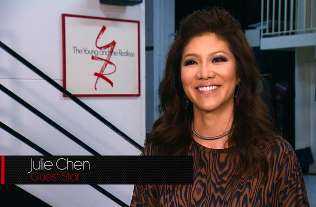 Julie Chen from Global TV's 'The Talk' chats about what it was like to act on Y&R!