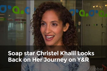 Global Exclusive: Soap star Christel Khalil Looks Back on Her Journey on Y&R