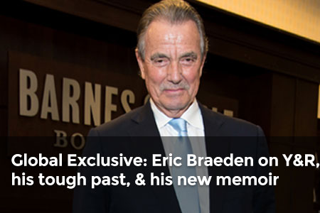 Global Exclusive: Eric Braeden on Y&R, his tough past, & his new memoir