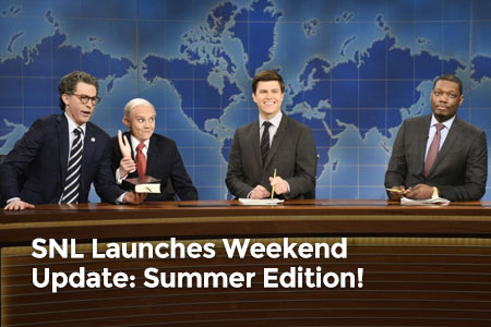 SNL Launches Weekend Update: Summer Edition