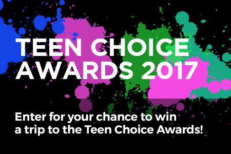 Enter for your chance to win a trip to the Teen Choice Awards!