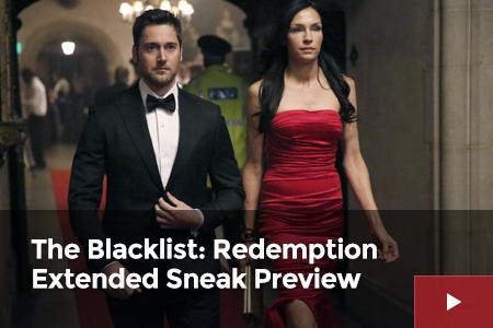 The Blacklist: Redemption Extended Premiere Sneak Preview!