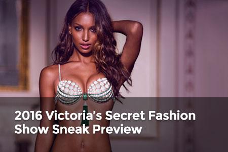 Watch: 2016 Victoria's Secret Fashion Show Sneak Preview