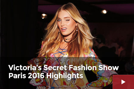 Watch: Victoria's Secret Fashion Show Paris 2016 Highlights