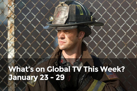 What's on Global TV This Week? January 23 - 29