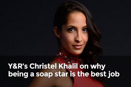 Y&R's Christel Khalil talks to Global