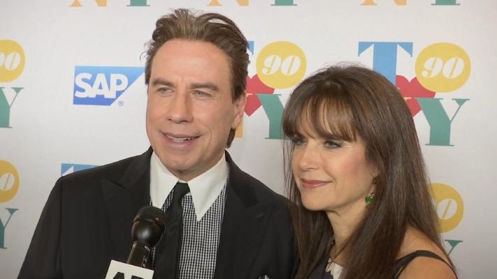 john travolta and kelly preston on their upcoming movie