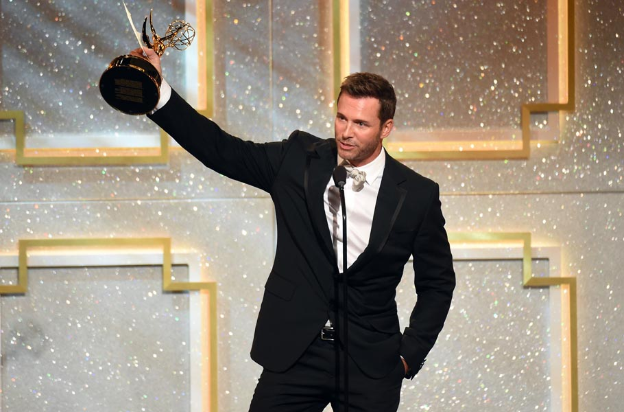 Eric Martsolf was on cloud nine after his Emmy win