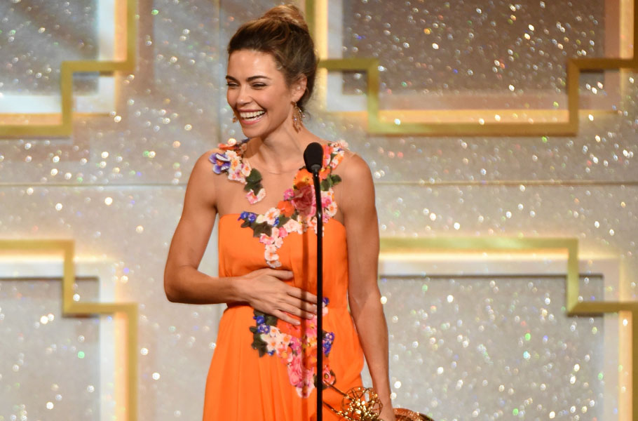Remembering your lines is overrated: Amelia Heinle on her Emmy win