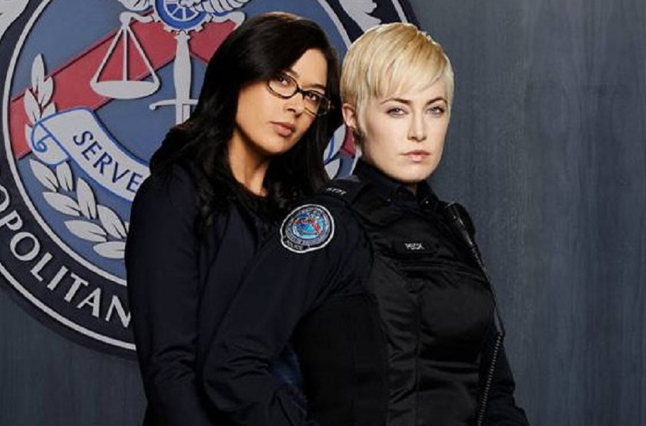 Rookie Blue's Aliyah O'Brien on Holly and Gail