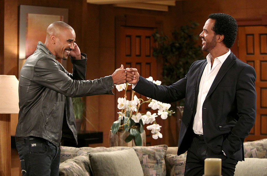 'In my heart, this is my first home': Shemar Moore on his return to Y&R