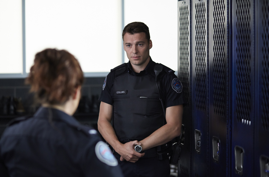 Rookie Blue's Peter Mooney answers questions from the fans