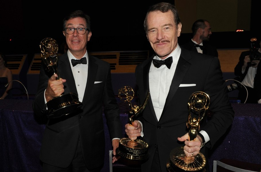 Stephen gets down and brainy with Bryan Cranston