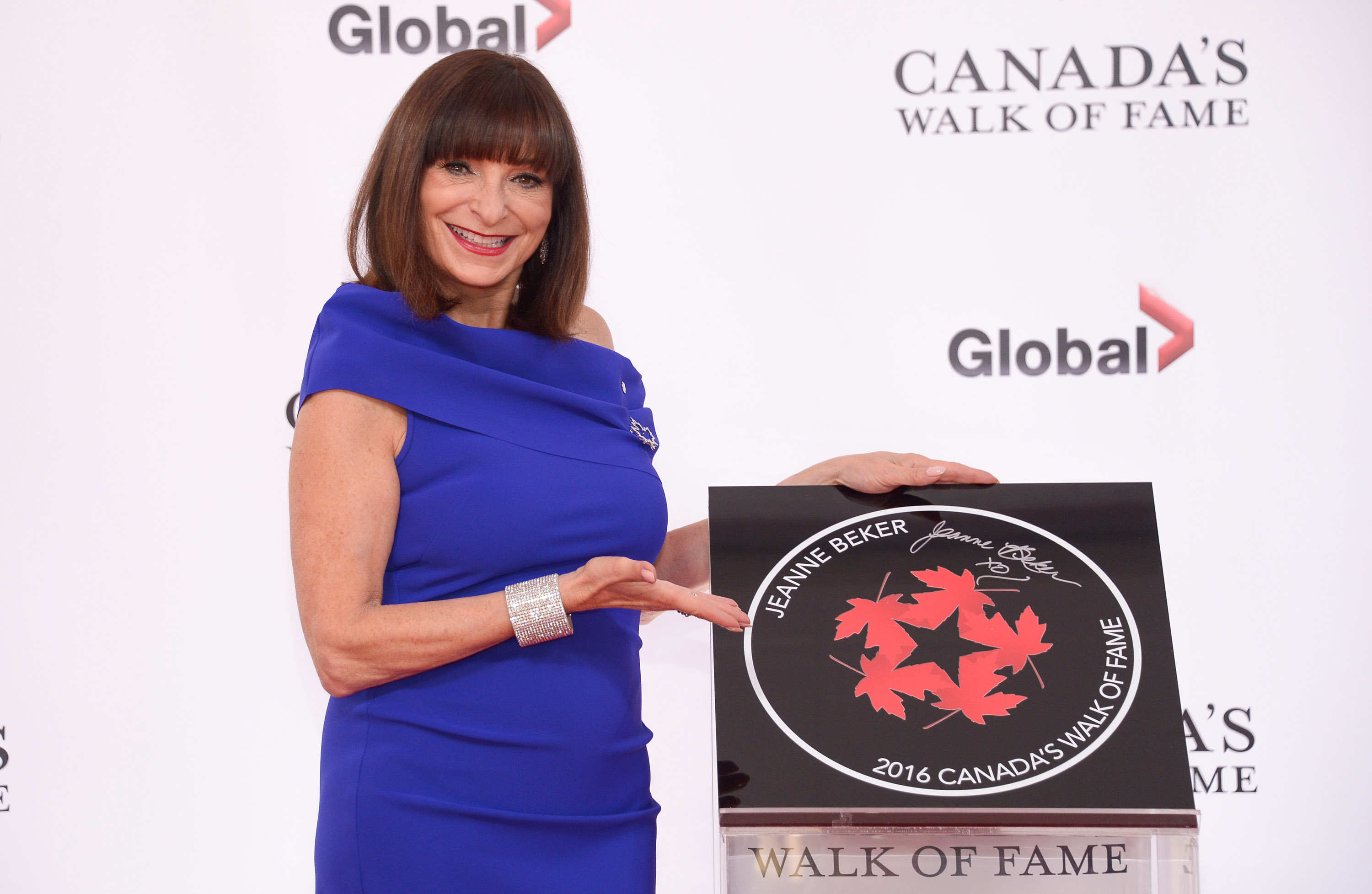 TORONTO, ON - OCTOBER 06:  Fashion Entrepreneur, TV personality and journalist Jeanne Beker attends the 2016 Canada's Walk Of Fame Awards at Allstream Centre on October 6, 2016 in Toronto, Canada.  (Photo by George Pimentel/WireImage)