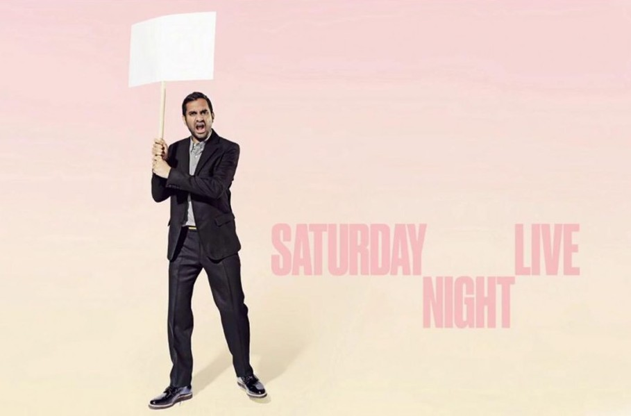 Aziz Ansari hosts Saturday Night Live