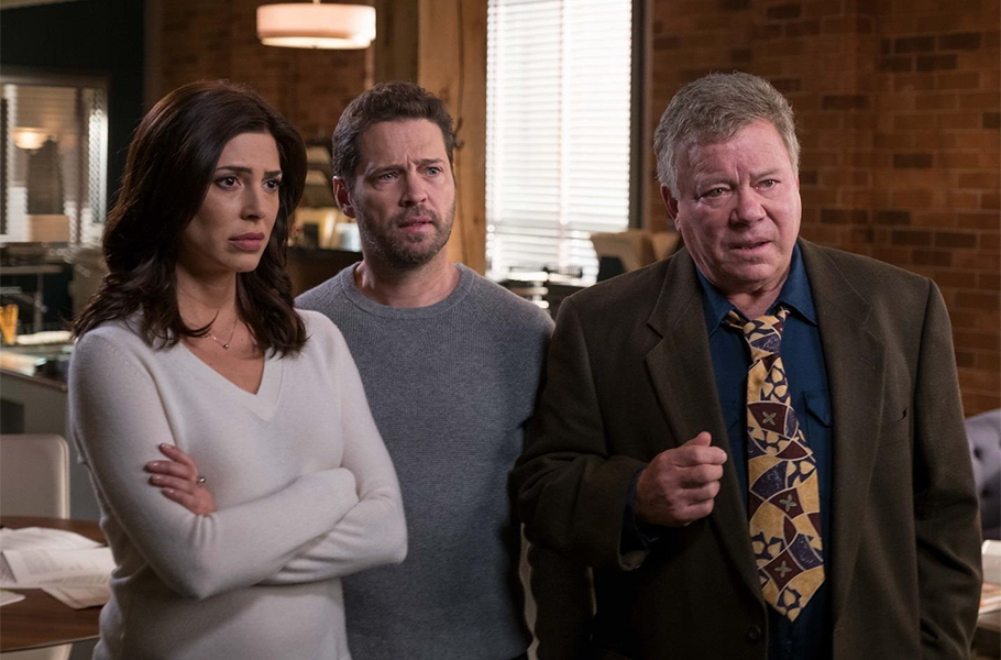 William Shatner Joins List of Guest Stars in Private Eyes Season 2