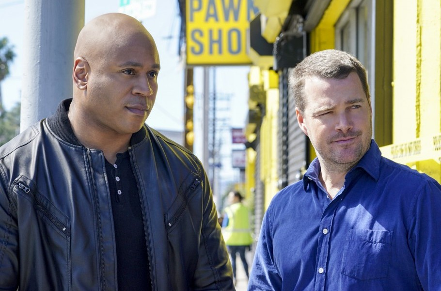 NCIS: LA's LL Cool James brings so many acronyms to The Late Show!