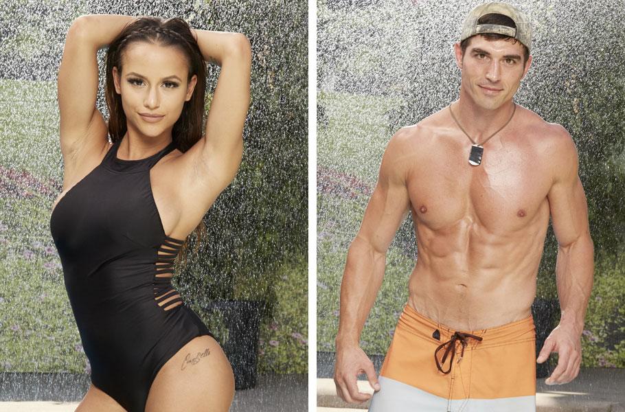 Big Brother 19 Swimsuit Backyard Cast Photos